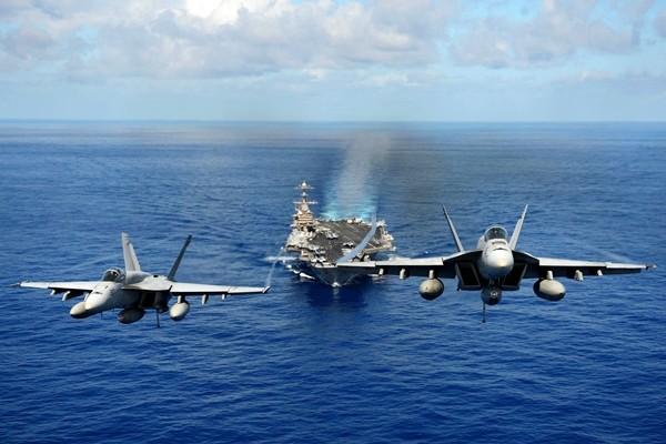 Sức mạnh tàu sân bay USS John C. Stennis Mỹ điều đến Biển Đông - ảnh 3