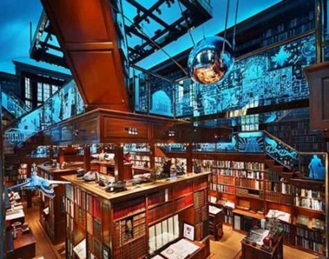 Choáng ngợp với các thư viện lộng lẫy nhất thế giới - ảnh 5