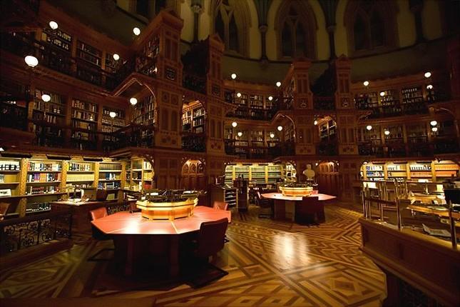 Choáng ngợp với các thư viện lộng lẫy nhất thế giới - ảnh 6