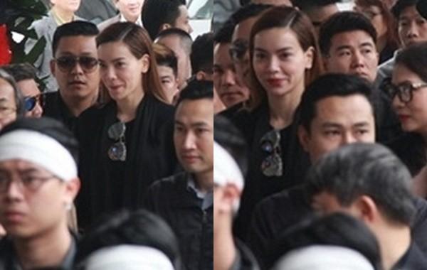 Thu Minh nức nở, Hà Hồ tỏ 'thái độ lạ' bên linh cữu NS Lương Minh - ảnh 2