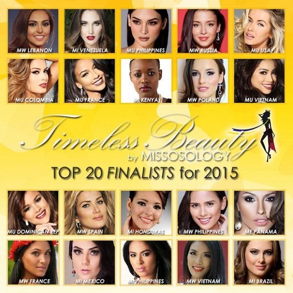 Pham Hương - Lan Khuê lọt top 20 Hoa hậu đẹp nhất của Missosology - ảnh 2