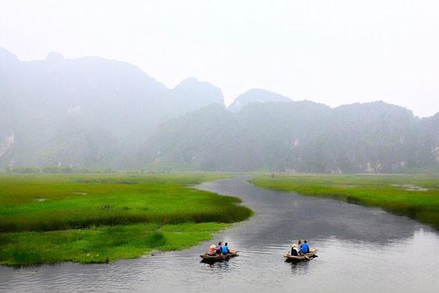 Khám phá vẻ đẹp mê hồn của 'vịnh không sóng' Vân Long - ảnh 4