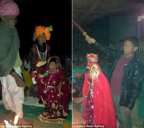 Đám cưới bí mật của cô dâu 2 tuổi gây sốc ở Ấn Độ - ảnh 2