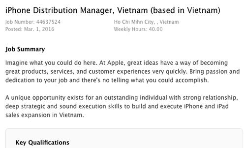 Apple sắp tự bán iPhone ở Việt Nam - ảnh 2
