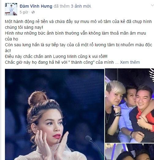 Mr Đàm 'tố' người chụp ảnh nụ cười Hà Hồ ở đám tang NS Lương Minh - ảnh 2