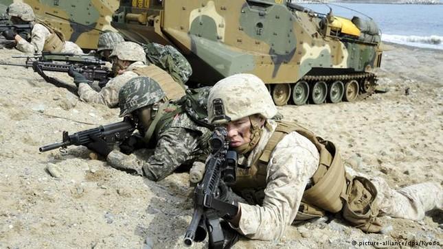 Mỹ - Hàn tập trận đánh đòn phủ đầu, Triều Tiên tổng động viên - ảnh 1