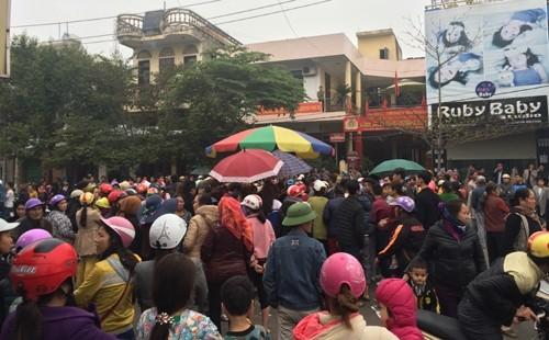 Công an bác tin có người trúng đạn ở thị xã Sầm Sơn - ảnh 1