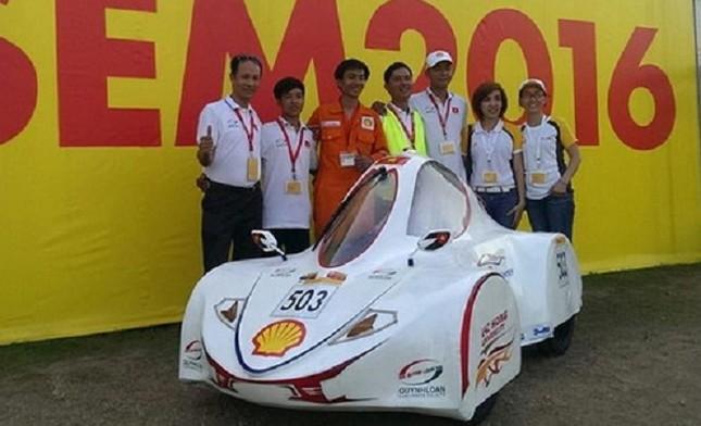 Việt Nam giành giải nhất sáng chế xe tiết kiệm nhiên liệu châu Á - ảnh 1