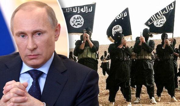 Phiến quân IS tung video đe dọa Tổng thống Nga Putin - ảnh 1