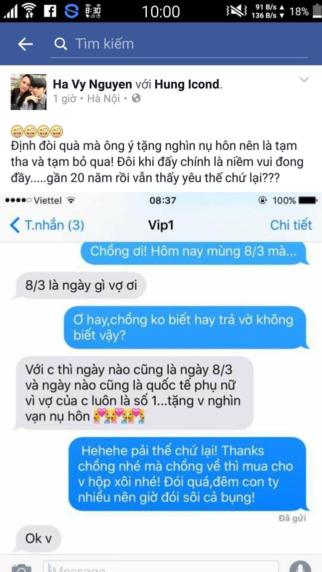 Mỹ nhân Việt hào hứng 'đua nhau' khoe quà 8/3 - ảnh 2