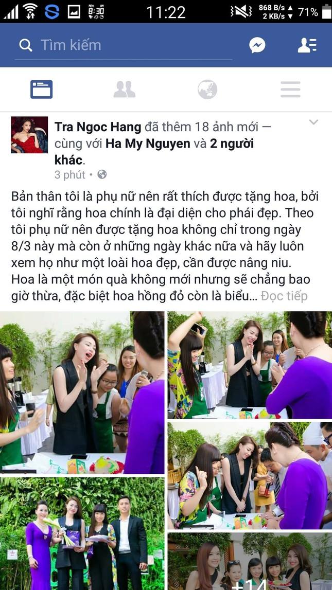 Mỹ nhân Việt hào hứng 'đua nhau' khoe quà 8/3 - ảnh 10