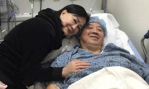 Hình ảnh mới nhất của NS Quốc Bảo sau ca phẫu thuật khối u gan - ảnh 2