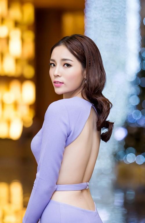 Hoa hậu Kỳ Duyên bất ngờ bị dùng ảnh quảng cáo trên web bán dâm - ảnh 2
