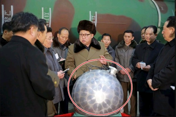 Đầu đạn hạt nhân thu nhỏ của Triều Tiên chỉ là 'mô hình'? - ảnh 1