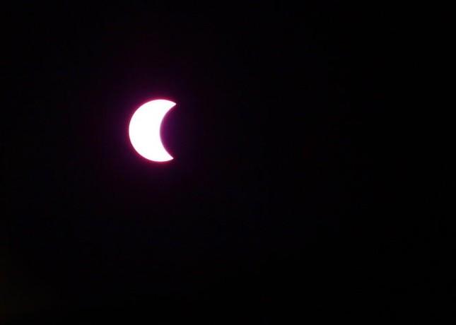 Những bức ảnh nhật thực một phần tuyệt đẹp tại TP.HCM - ảnh 3