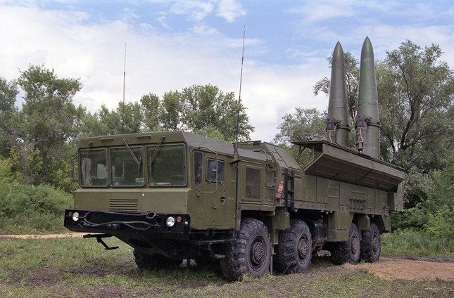 Sức mạnh 'mãnh thú' Iskander-M Nga triển khai ở Syria - ảnh 1