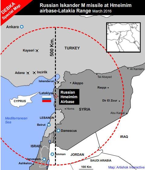 Sức mạnh 'mãnh thú' Iskander-M Nga triển khai ở Syria - ảnh 3