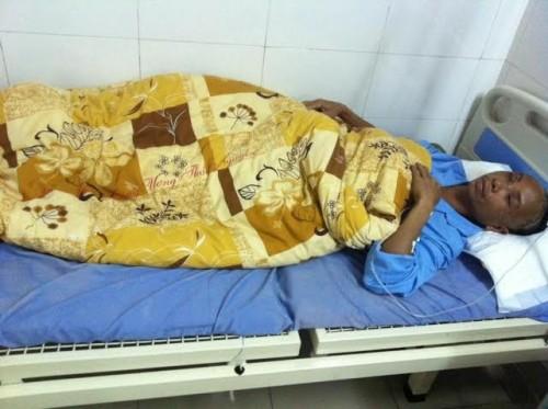 Cứu sống bệnh nhân bị cọc nhọn đâm trúng mắt xuyên não - ảnh 3