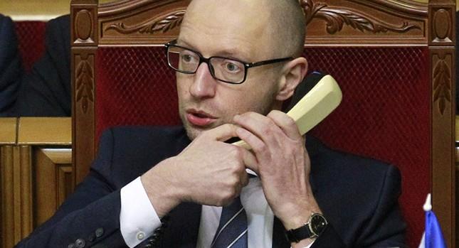 Thủ tướng Ukraine Arseniy Yatsenyuk đột ngột tuyên bố từ chức - ảnh 1