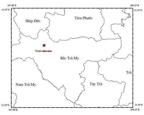 Động đất 3,2 độ richter kèm tiếng nổ lớn gần Thủy điện Sông Tranh - ảnh 2
