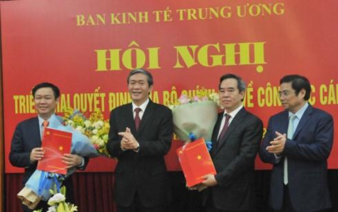 Ông Nguyễn Văn Bình giữ chức Trưởng ban Kinh tế Trung ương - ảnh 1