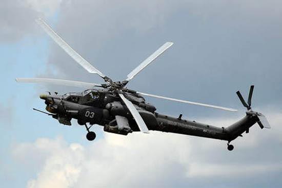 Nguyên nhân 'thợ săn đêm' Mi-28N Nga rơi ở Syria - ảnh 1