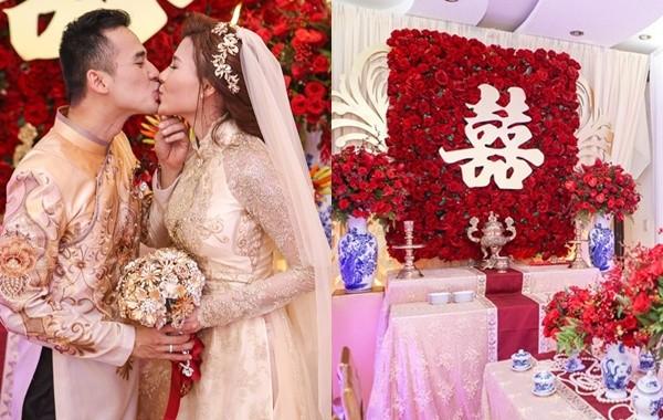 Toàn cảnh đám cưới lãng mạn của Lương Thế Thành - Thúy Diễm - ảnh 1