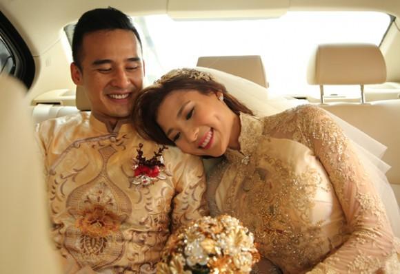 Toàn cảnh đám cưới lãng mạn của Lương Thế Thành - Thúy Diễm - ảnh 13