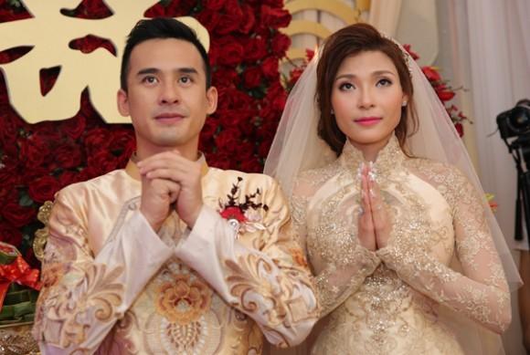 Toàn cảnh đám cưới lãng mạn của Lương Thế Thành - Thúy Diễm - ảnh 10