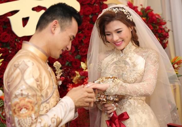 Toàn cảnh đám cưới lãng mạn của Lương Thế Thành - Thúy Diễm - ảnh 8