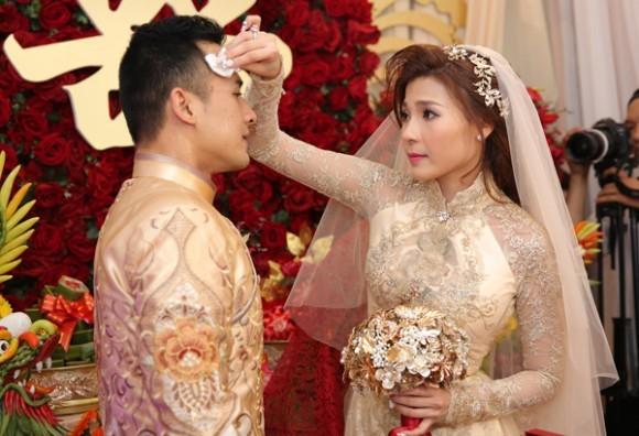 Toàn cảnh đám cưới lãng mạn của Lương Thế Thành - Thúy Diễm - ảnh 7