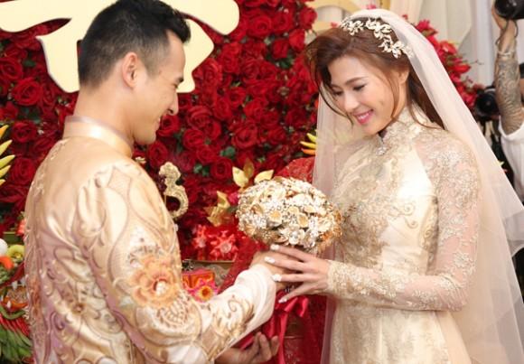 Toàn cảnh đám cưới lãng mạn của Lương Thế Thành - Thúy Diễm - ảnh 5
