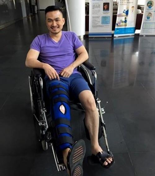Nam diễn viên Chi Bảo nhập viện vì tai nạn phim trường - ảnh 2