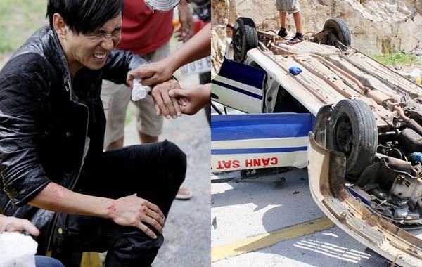'Đứng ngồi không yên' với cảnh đua xe khiến Lý Hải gặp tai nạn - ảnh 1