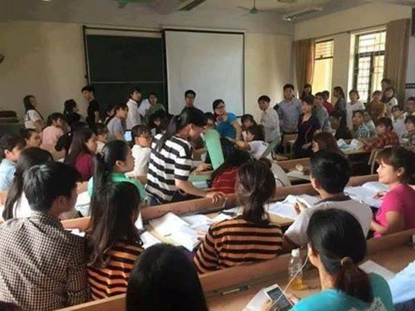 Quạt trần rơi vào đầu: Tin lời sinh viên hay hiệu trưởng? - ảnh 1