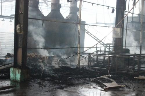 Cháy nổ lớn tại xưởng gỗ 8.000m2, thiệt hại hàng tỷ đồng - ảnh 3
