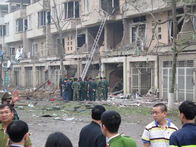 Xác định vụ nổ tại Hà Đông là do vật liệu nổ quân dụng - ảnh 1