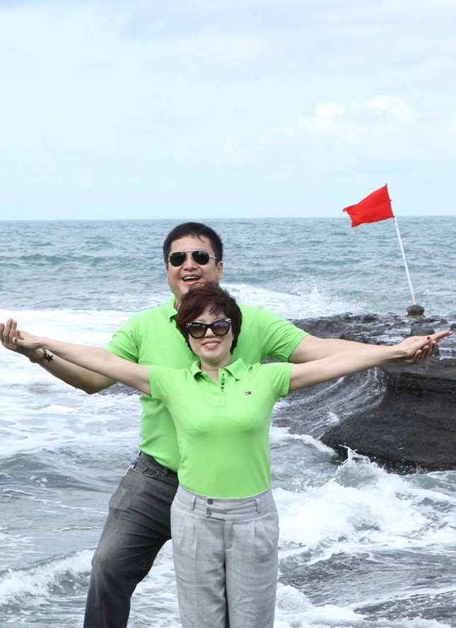 Vợ Chí Trung xác nhận vụ chồng 'thế chân' Minh Béo ở Lục lạc vàng - ảnh 3