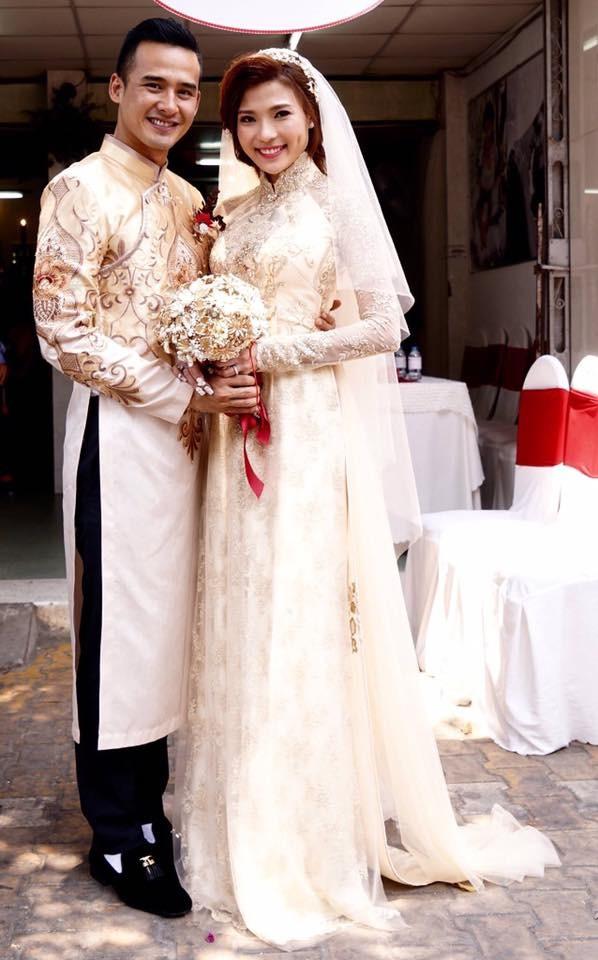Cô dâu Thúy Diễm lâng lâng hạnh phúc vì nhiều người thương - ảnh 3