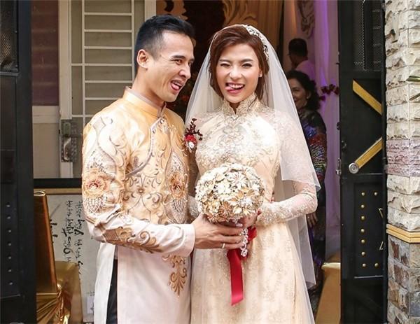 Cô dâu Thúy Diễm lâng lâng hạnh phúc vì nhiều người thương - ảnh 8