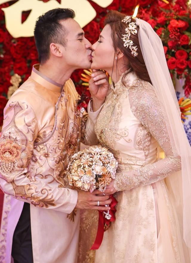 Cô dâu Thúy Diễm lâng lâng hạnh phúc vì nhiều người thương - ảnh 4
