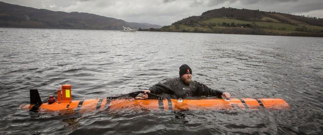 Phát hiện 'quái vật Loch Ness' dưới đáy hồ ở Scotland - ảnh 2