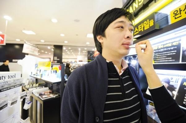 Đàn ông Hàn Quốc ngày càng 'đỏm dáng' - ảnh 2