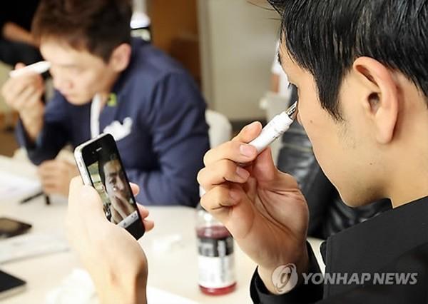 Đàn ông Hàn Quốc ngày càng 'đỏm dáng' - ảnh 11