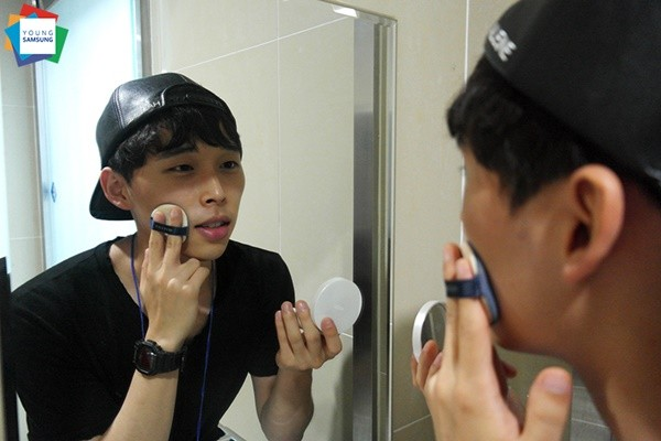 Đàn ông Hàn Quốc ngày càng 'đỏm dáng' - ảnh 1
