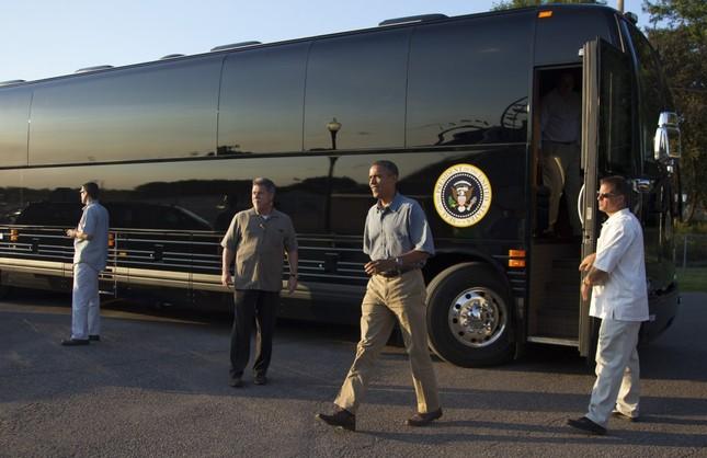 Khám phá 'quái vật bọc thép' của Tổng thống Mỹ Obama - ảnh 7
