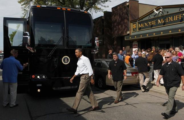 Khám phá 'quái vật bọc thép' của Tổng thống Mỹ Obama - ảnh 4