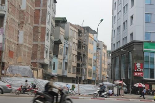 Hà Nội: Bức xúc nhà 5 tầng khang trang bỗng nhiên biến mất - ảnh 1