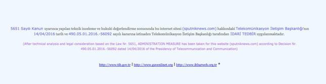 Thổ Nhĩ Kỳ bất ngờ chặn website hãng thông tấn Nga - ảnh 2