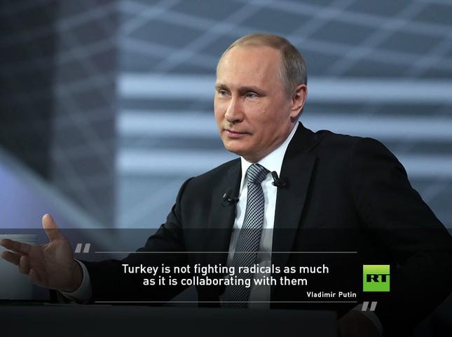 Màn hỏi đáp sắc sảo và ấn tượng của ông Putin - ảnh 4